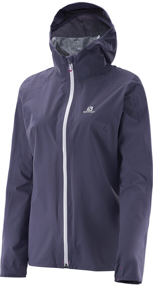Salomon W's Bonatti WP Jacket Nightshade Grey